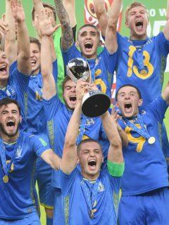 Ucrania, campeón del Mundial Sub 20