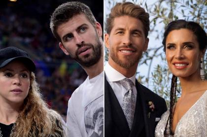 Shakira, Piqué; Sergio Ramos y Pilar Rubio