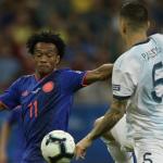 Selección Colombia vs. Argentina (Cuadrado)