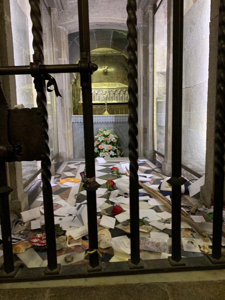 Oración a la tumba