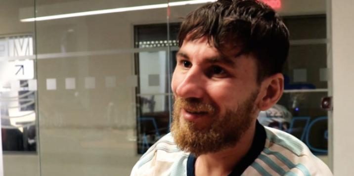 Doble de Messi.