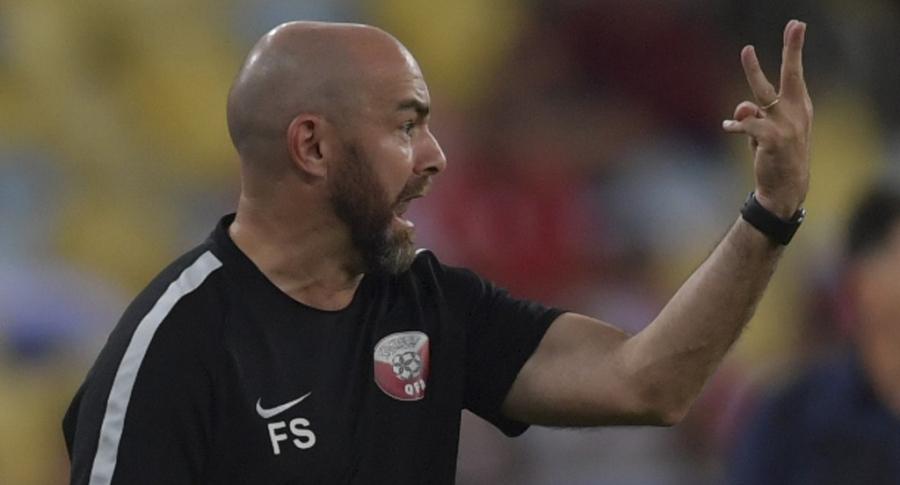 Félix Sánchez, técnico de Catar