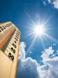 Termometro de sol
