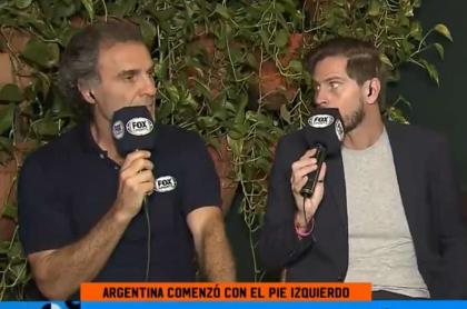 Óscar Ruggeri y Sebastián Vignolo