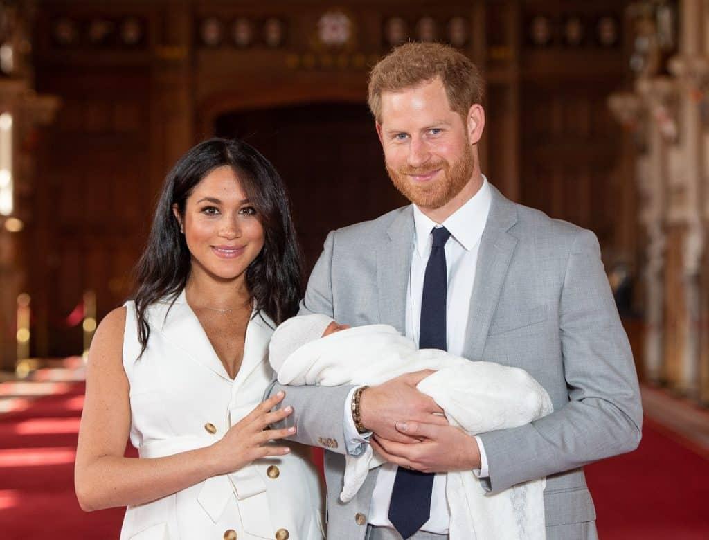 Duquesa de Sussex, Archie y príncipe Harry