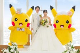 Matrimonio Pokémon con Pikachu