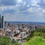 Ciudad de Bogotá. Panorámica de Bogotá.