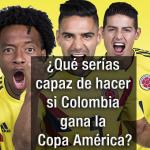 Juan Guillermo Cuadrado, Radamel Falcao García y James Rodríguez