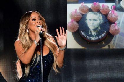 Mariah Carey y pastel de Marie Curie.
