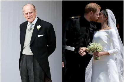 Príncipe Felipe / Príncipe Harry y Meghan Markle