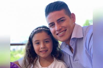 Salomé Rodríguez y James Rodríguez