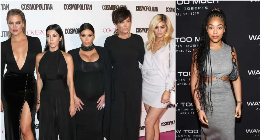 Khloe Kardashian, Kourtney Kardashian, Kim Kardashian, Kris Jenner, Kylie Jenner  y Jordyn Woods