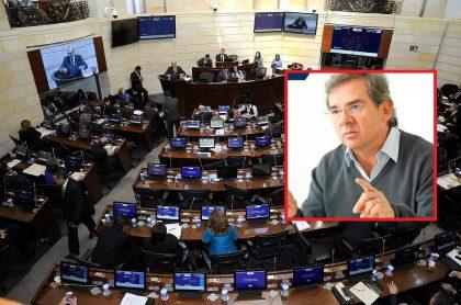 Congreso y senador Germán Varón
