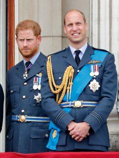 Meghan Markle, el príncipe Harry, el príncipe William y Kate Middleton