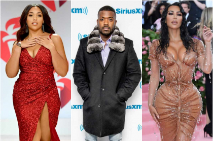 Jordyn Woods / Ray J / Kim Kardashian