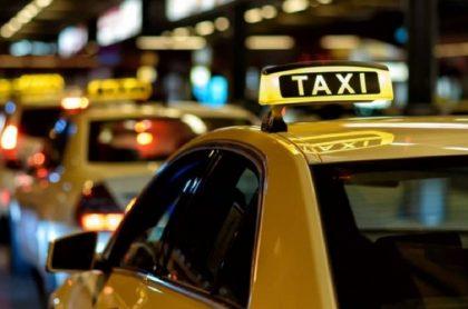 Imagen de un taxi