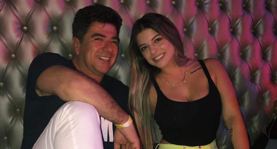 Fabio Legarda y su hija Daniela.