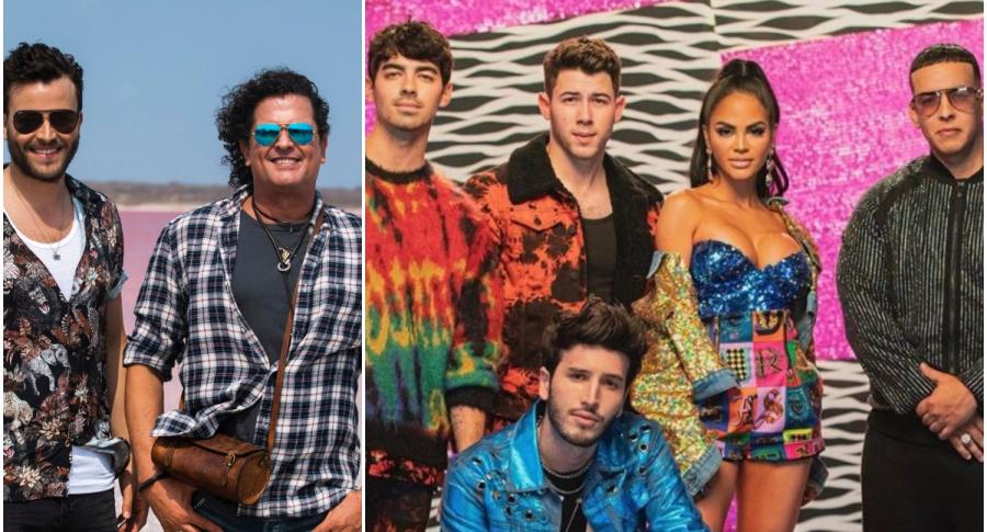 Gusi y Carlos Vives / Los Jonas Brothers, SEbastián Yatra, Natti Natasha y Daddy Yankee Yatra