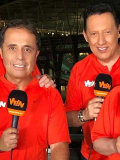 César A. Londoño, Óscar Rentería y Hugo Illera