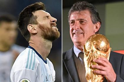 Lionel Messi y Mario Kempes