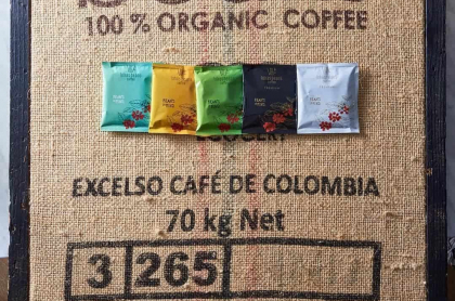 Café orgánico de exportación
