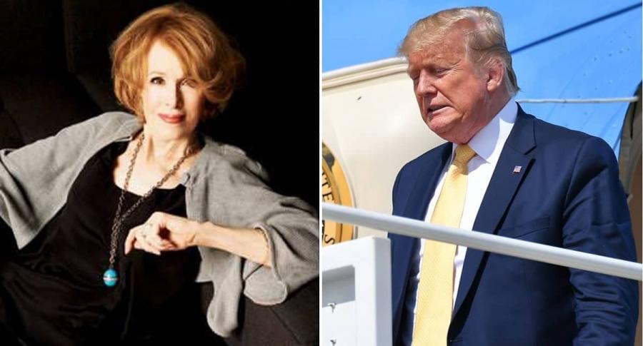 Elizabeth Jean Carroll y Donald Trump