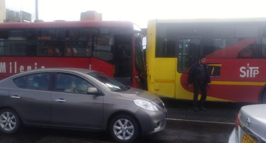 Accidente Transmilenio