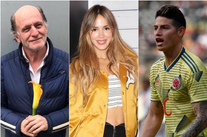 Fernán Martínez, Shannon de Lima y James Rodríguez