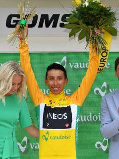 Egan Bernal gana en Suiza