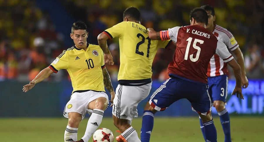 Colombia vs. Paraguay