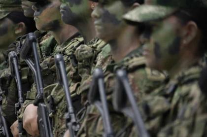Militares del Ejército Nacional