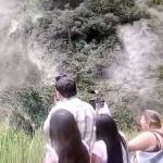 Derrumbe en Bolívar, Valle del Cauca.