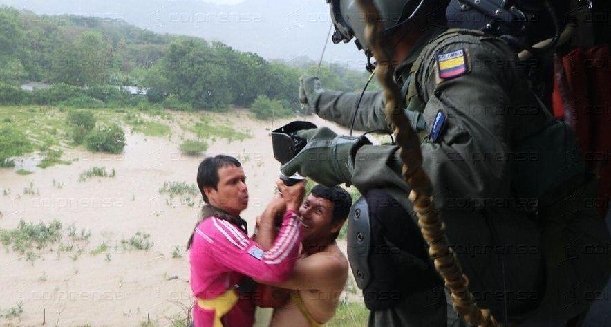 Inundaciones en Puerto Asis, Putumayo.