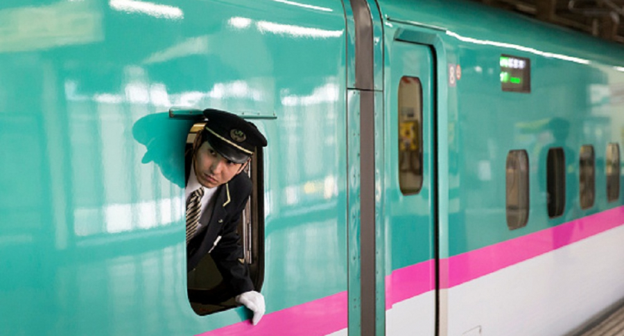 Tren en Japón.