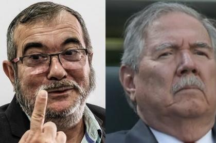 'Timochenko' y Guillermo Botero