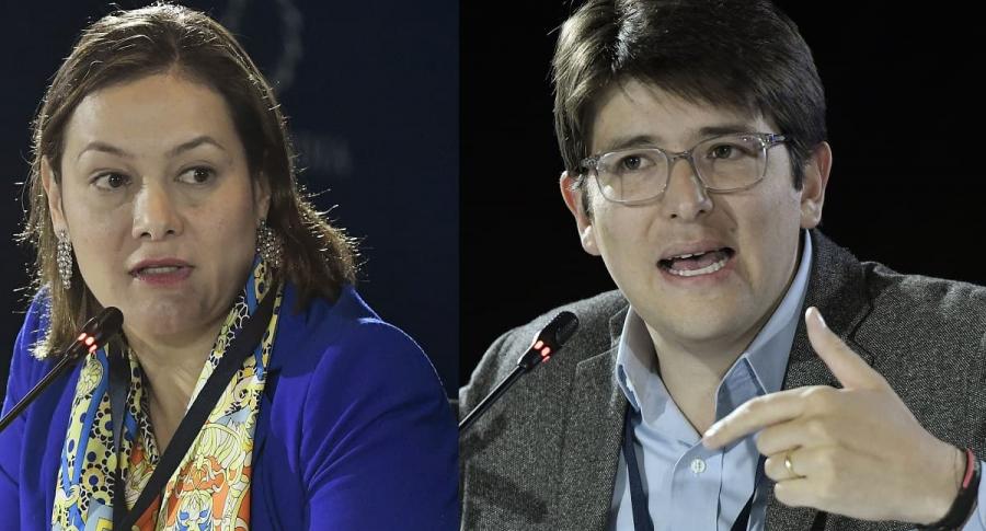 Ángela Garzón y Miguel Ángel Turbay. Imágenes Getty.