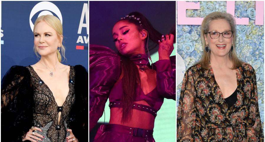 Nicole Kidman / Ariana Grande / Meryl Streep