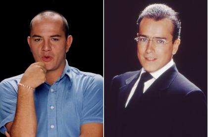 Julián Arango y Jorge Enrique Abello, actores.