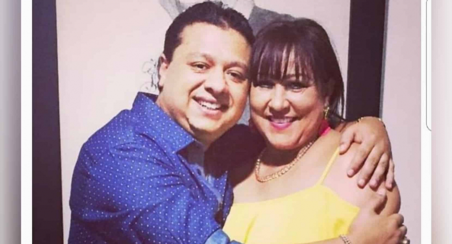 Rafaél Santos y Patricia Acosta