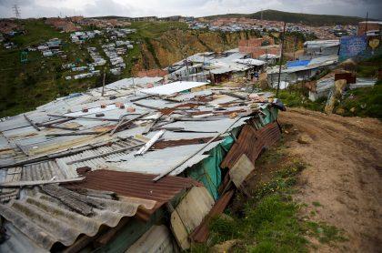 Ciudad Bolívar, barrio El Ensueño. Imagen de referencia AFP