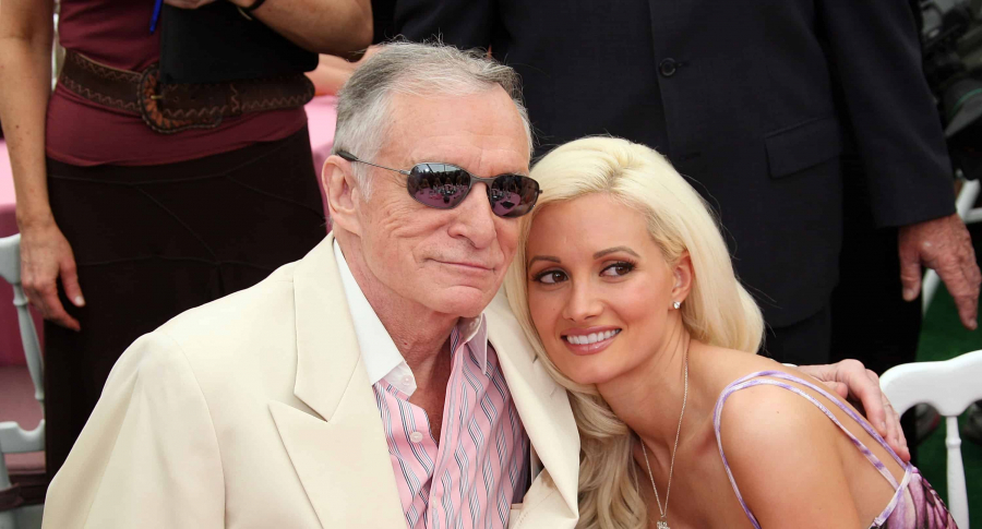 Hugh Hefner y Holly Madison