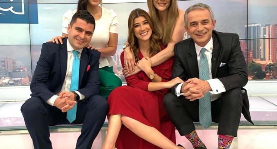 Juan Felipe Cadavid, Andrea Jaramillo, Ana Karina Soto y Juan Eduardo Jaramillo, presentadores.