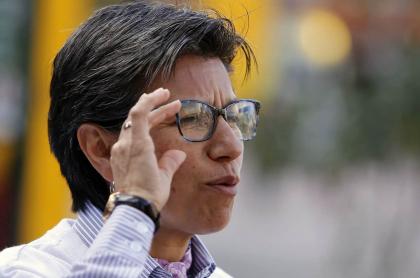 Claudia López. Imagen AFP