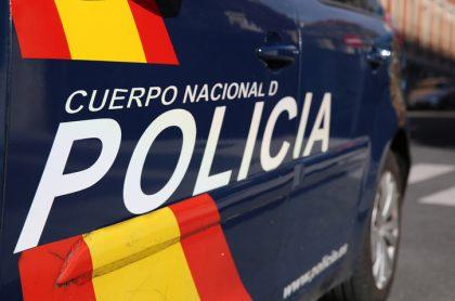 Carro de la policía de Madrid, España