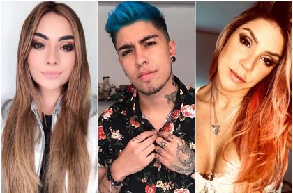 'La Mafe' Méndez, 'Juanda' y Valentina Lizcano