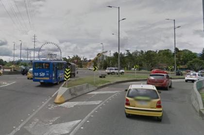 Avenida 68, noroccidente de Bogotá. Imagen Google Maps.