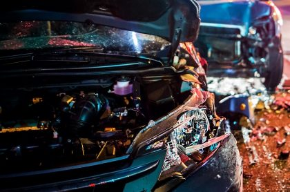 Accidente automovilístico. Imagen de referencia Getty.