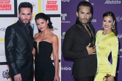 Fabián Ríos y Yuly Ferreira, actores.