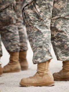 Soldados en formación