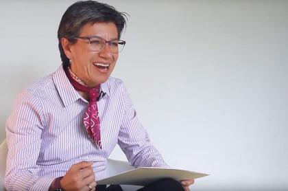 Claudia López. Captura de pantalla Pulzo.